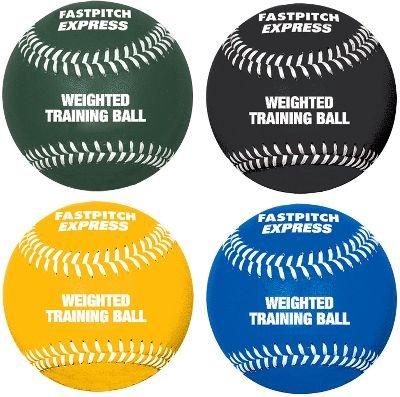 "Softball.com 12"" Weighted Training Softball Set (4 Pack)"