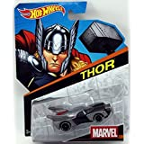 Hot Wheels, Marvel Character Car, Thor #3, 1:64 Scale