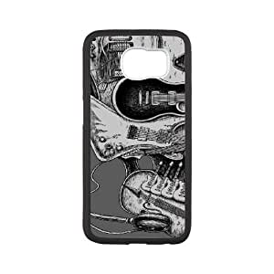 YAYADE Phone Case Of cool Floral Skulls For Samsung Galaxy S6 G9200