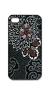 TUTU158600 Customized Dual-Protective iphone4s - Large Acrylic Floral Painting
