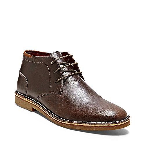 Steve Madden Men's Hestonn Chukka Boot - Dark Brown - 9 D...