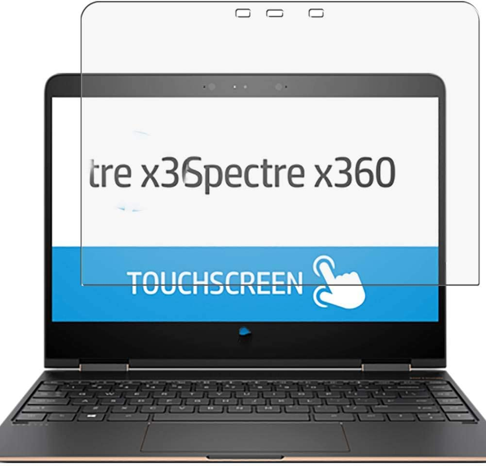 Puccy 2 Pack Anti Blue Light Screen Protector Film, compatible with HP Spectre x360 13-ac000 13.3