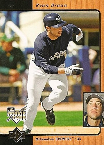 Ryan Braun Baseball Card Milwaukee Brewers 2007 Upper Deck