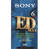 Sony T-120EDE ED MAX VHS Videocassette