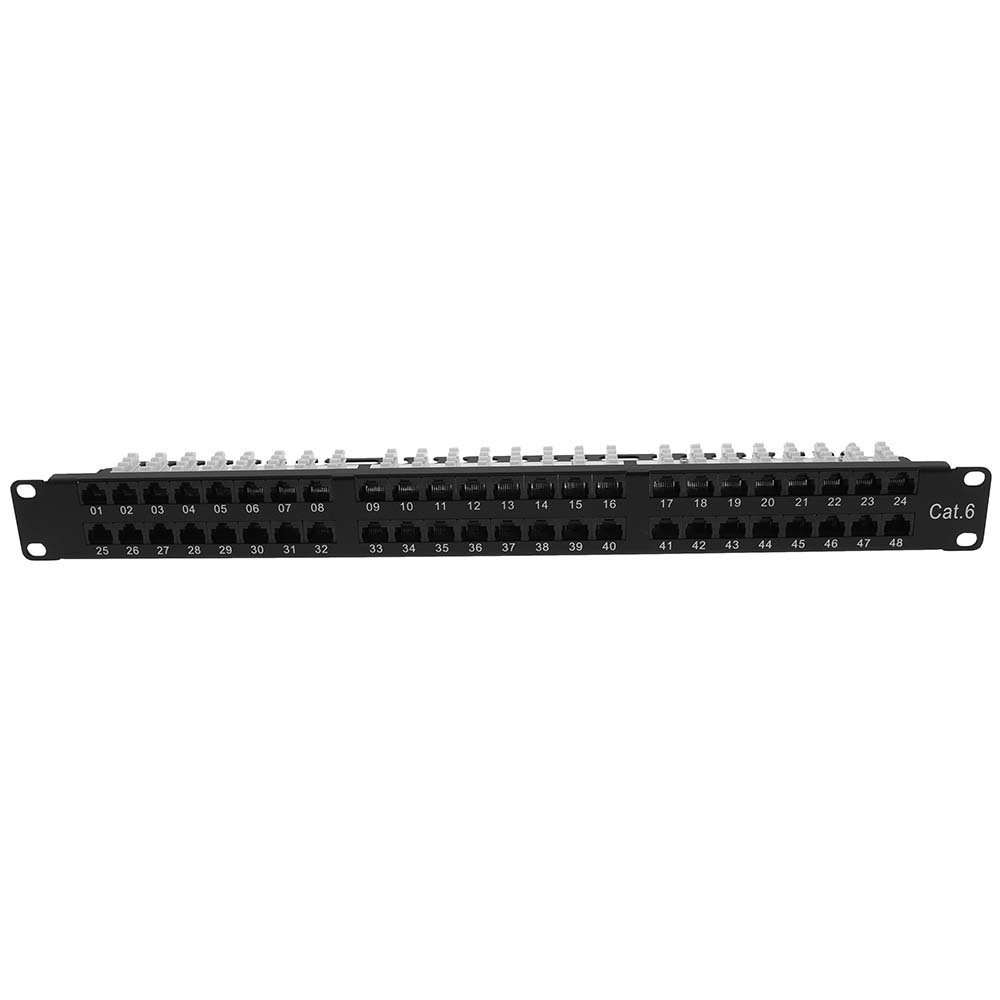 InstallerParts Cat 6 1U 48Port Patch Panel UTP by InstallerParts