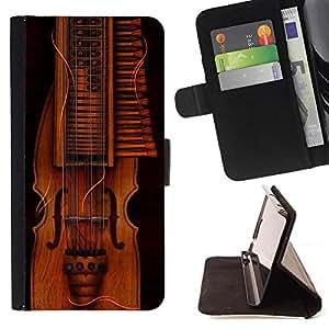 Kingstore / - Instrumento Musical De Oro En Marrón - Samsung Galaxy S6