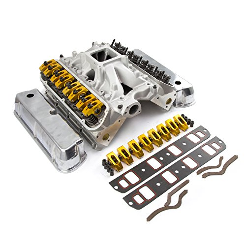 fits Ford SB 289 302 Hyd Roller 190cc Cylinder Head Top End Engine Combo Kit