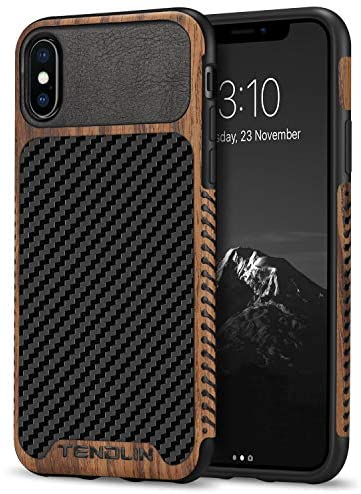 TENDLIN Compatible iPhone Texture Leather product image