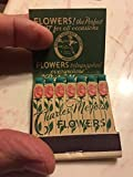 Vintage Feature Matchbook Charles Meyers Flowers, Norwood Ohio