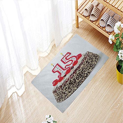 Home Decor Carpet Short hairs Crystal velvet mats door mat for Living room/bedroom door,23.6