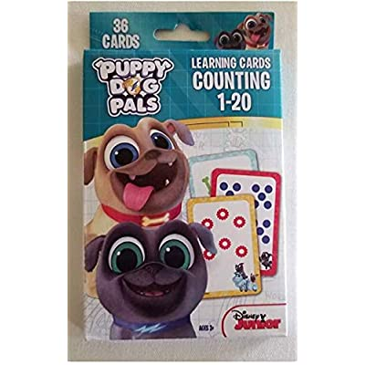 Disney Junior Puppy Dog Pals Counting 1-20: Toys & Games