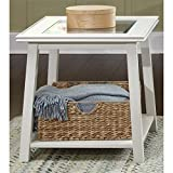 Cheap Summerhill Square Linen End Table