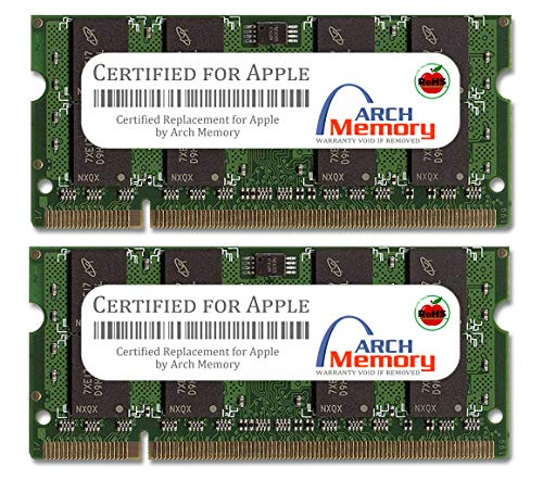 Arch Memory Replacement for Apple 8GB (2 x 4GB) 204-Pin DDR3 So-dimm RAM for MacBook Pro Intel Core 2 Duo Mid 2009 (Macbook Pro Intel Core 2 Duo 4gb Ram)