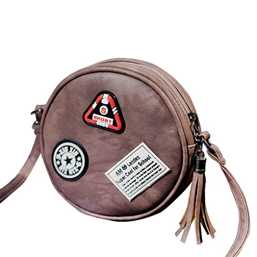 Bag Pu Leather Mini Crossbody Single Shoulder Bag Red Leather Bag Women Casual Round Trip Topker Cute Girls Plaid