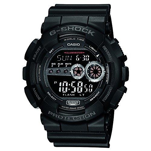 Casio Men's GD100-1BCR G-Shock X-Large Black Multi-Functional Digital Sport W...