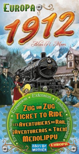 Ticket To Ride 1912 Expansion (Big Ticket)