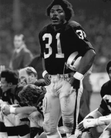 PL JACK TATUM OAKLAND RAIDERS 8X10 SPORTS ACTION PHOTO