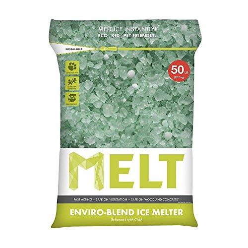 Snow Joe MELT50EB MELT 50 Lb. Resealable Bag Premium Environmentally-Friendly Blend Ice Melter w/ CMA - Center Friendly Shopping Stores