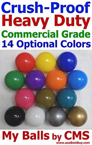 - My Balls Pack of 100 Black Jumbo 3