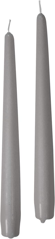 Risth/ò 56213/_24 Bougies en Cire Gris Perle Taille Unique