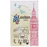 Ulster Weavers London Cotton Tea Towel with Hanging Loop