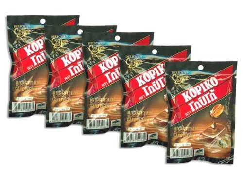 5-kopiko-strong-flavor-coffee-beans-hard-candy-wake-up-refreshing-candies-21-g-product-of-thailand