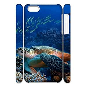 linJUN FENGSea Turtle DIY 3D Cover Case for iphone 4/4s,personalized phone case ygtg565742
