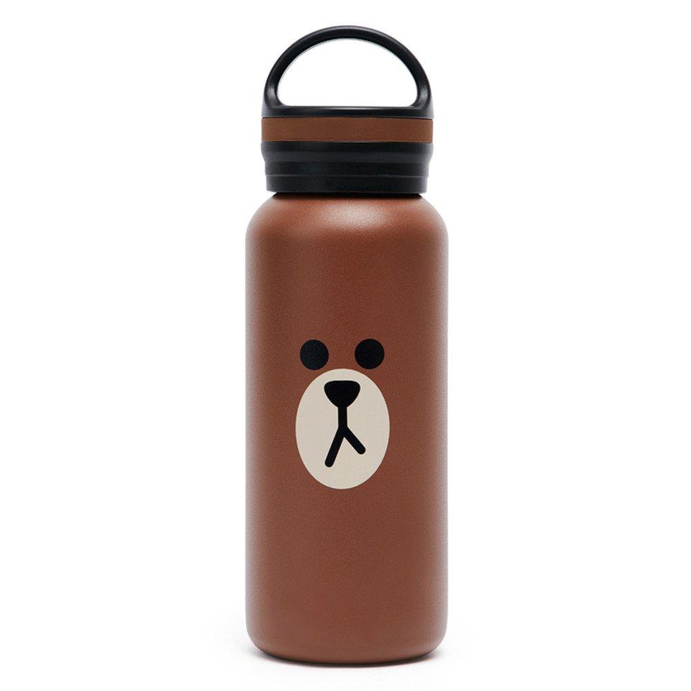 LINE FRIENDS Botella de Vacío de Acero Inoxidable 473ml (16oz) (Cony) Line Friends Korea