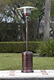 Golden Flame 46,000 BTU (XL-Series) Mocha Bronze Patio Heater...