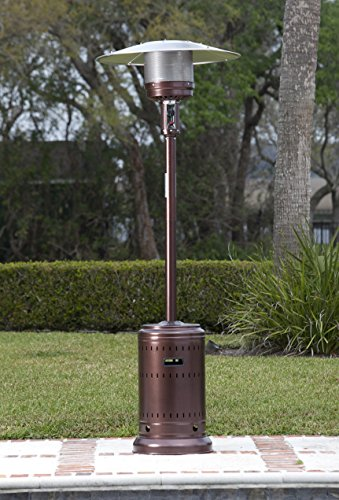Fire Sense Hammer Tone Bronze Commercial Patio Heater Fire Sense Hammer  Tone Bronze Commercial Patio Heater  Fire Sense Patio Heater