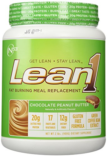 Nutrition 53 Lean 1 Dietary Supplement, Chocolate Peanut Butter, 1.98 Pound