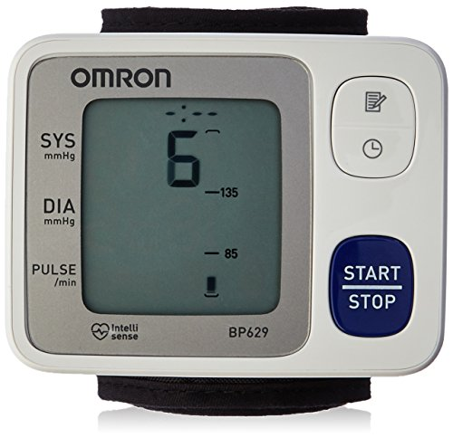 Omron Healthcare BP629 3 Series Wrist BP Monitor with IntelliSense