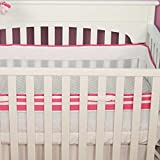 Safe Sleep Pink Crib Liner