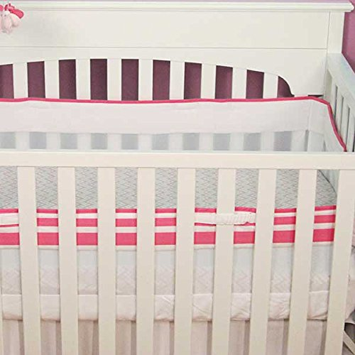 Safe Sleep Pink Crib Liner by Just Born
