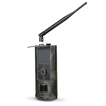 Lixada 16MP 1080p 2G SMS gsm Trail Cámara Infrarrojos Visión Nocturna Caza Cámara de Juego