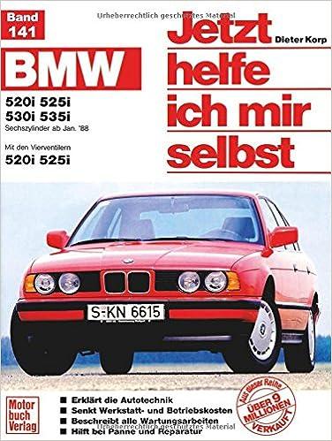 BMW 520i / 525i / 530i / 535i ab Januar 1988. Jetzt helfe ich mir selbst: Sechszylinder ab Januar 88. Mit den Vierventilern 520i, 525i: Amazon.es: Dieter ...