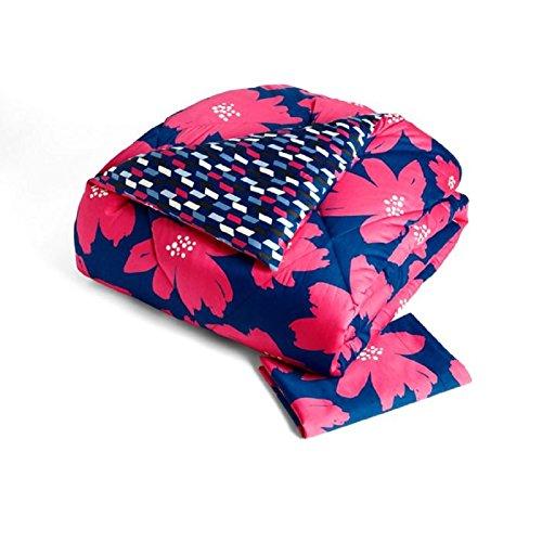 Vera Bradley Sateen Comforter Set - Art Poppies - Twin