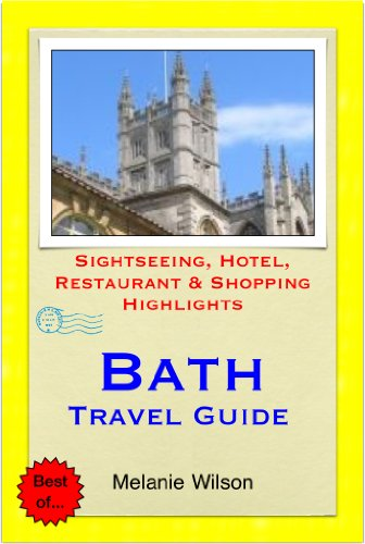 bath travel guide sightseeing hotel restaurant shopping highlights illustrated