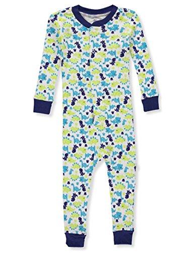Duck Duck Goose Baby Boys' 1-Piece Pajamas - Navy, 24 Months -