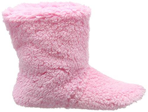 Eaze Damen Pale Pink Fleece Hausschuhe Rosa (Pink)