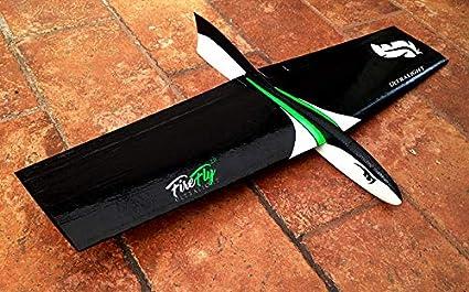 RC Glider Ultralight Handmade DLG Glider HLG Radio Control Kit Firefly 2 0