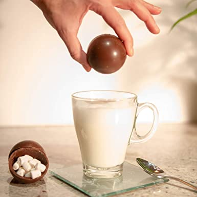 Hot Chocolate Bomb Milk Silky Mini Marshmellows Bedtime Kids Him Her Sleep Birthday Fathers Day Secret Sant Ideal Gift For All Occasions