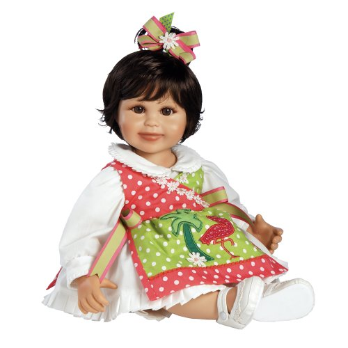 "Marie Osmond Baby Olive the Seasons, 12"" Seated Vinyl Doll"