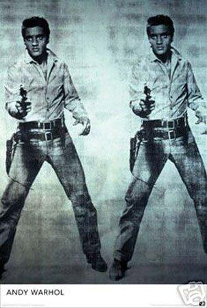 Hot Stuff Enterprise 677-24x36-PA Andy Warhol Elvis Poster from Hotstuff