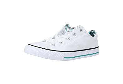 84b6cf3eea82 Converse Kid s Shoes All Star Madison White Fashion Sneakers (1 Little Kid s )