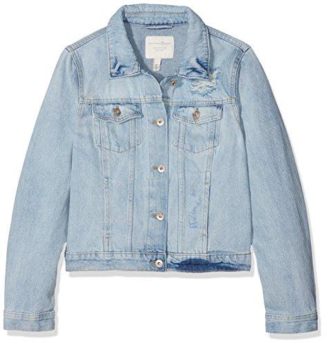 Wash Wash Wash Light Bleach den den den den 10280 Jeans Donna Blu Large in Stone Tom Giacca Denim Super X Tailor O7qgnzqP