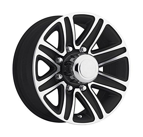 8 lug 16 inch black rims - 4