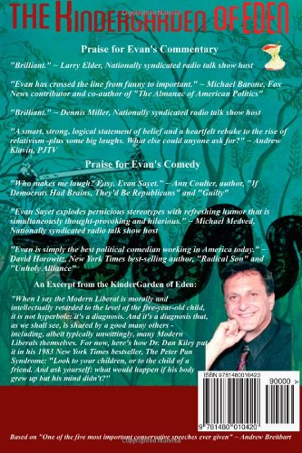 KinderGarden Of Eden: How the Modern Liberal Thinks: Evan Sayet: 9781480010420: Amazon.com: Books