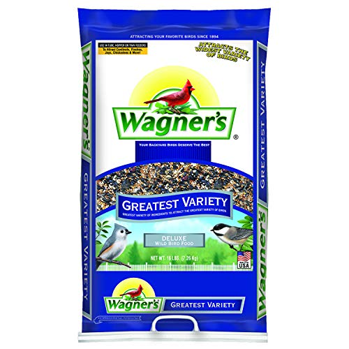 Bird Seed Bag - Wagner's 62059 Greatest Variety Blend, 16-Pound Bag