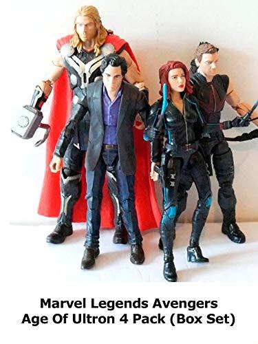 Clip: Marvel Legends Avengers Age Of Ultron 4 Pack (Box Set)